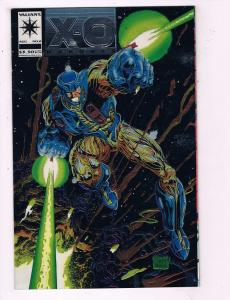 X-O Manowar #0 VF Valiant Comic Book Quesada August DE10