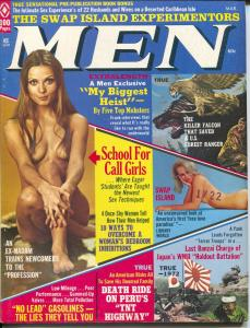 Men 3/1973-Atlas-WWII-TNT Highway-cheesecake-exploitation-crime-FN
