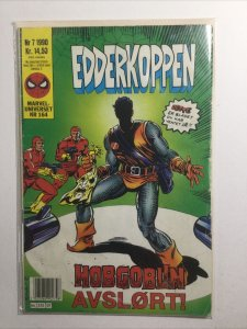 Edderkoppen Spider-Man Nr 7 Nr 164 Danish Very Good Vg 4.0 Marvel