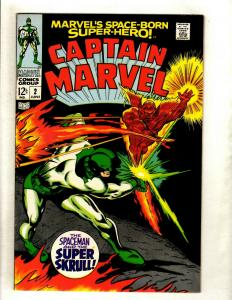 Captain Marvel # 2 VF/NM Comic Book Kree Super Skrull Avengers Hulk Thor HY1