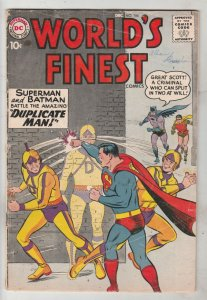 World's Finest #106 (Dec-59) VG Affordable-Grade Superman, Batman, Robin