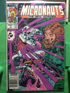 The Micronauts: The New Voyages #4
