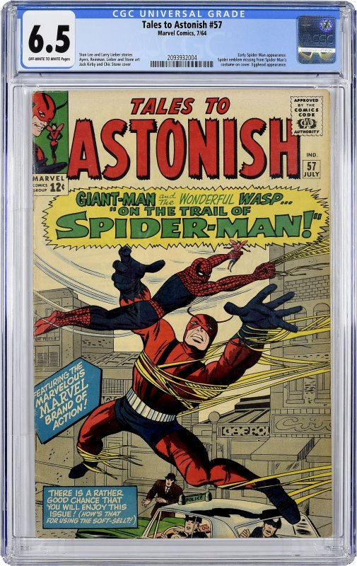 Tales to Astonish #57 (1964) CGC Graded 6.5