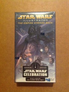 Topps Celebration 2015 Star Wars Illustrated Empire Strikes Back exclusive set