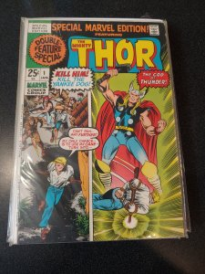 ​Special Marvel Edition #1 marvel 1971 bronze age  comic! THOR!!!! F/VF