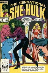Sensational She-Hulk #4, VF+ (Stock photo)