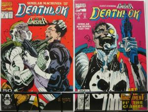 DEATHLOK 6-7 versus The PUNISHER in Similar Machines
