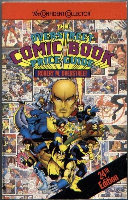 OVERSTREET COMIC BOOK PRICE GUIDE #24 VF/NM SC 1994