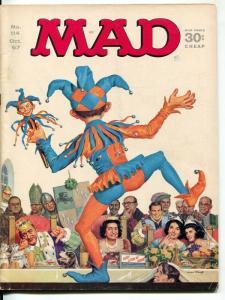 Mad-Magazine-#114-1967-Mingo-Mort Drucker- Jack Davis-Bob Clarke-Dr Seuss