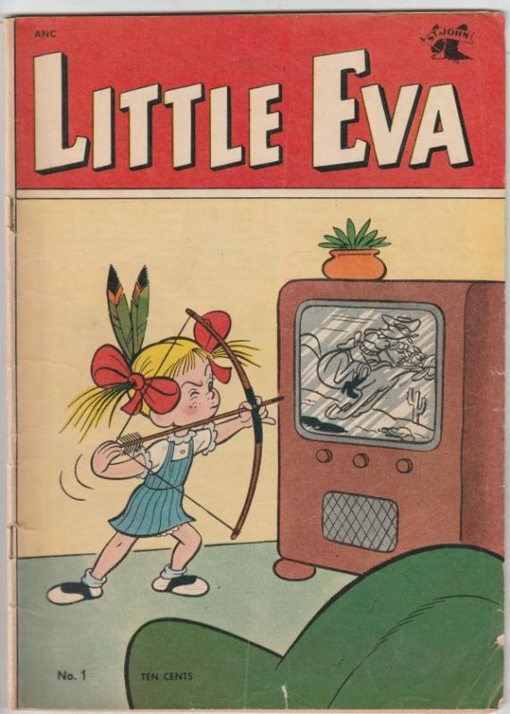Little Eva #1 (May-52) VG Affordable-Grade Little Eva