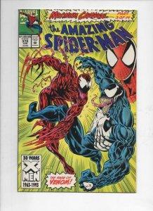 Amazing SPIDER-MAN #378, NM, Venom Carnage, 1963 1993, more Marvel in store
