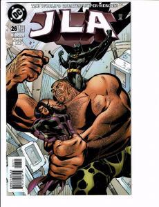 5 JLA DC Comic Books # 26 27 28 29 30 Batman Superman Flash Green Lantern J107