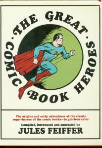 GREAT COMIC BOOK HEROES HARDCOVER REPRINTS BATMAN FLASH VG/FN