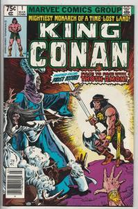 King Conan #1 (Mar-80) NM- High-Grade Conan the Barbarian