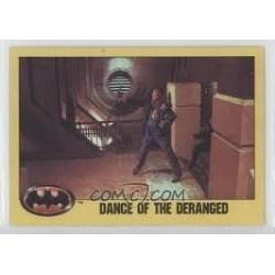 1989 Batman The Movie Series 2 Topps DANCE OF THE DERANGED #259