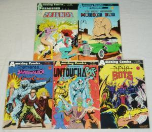 Amazing Comics Premieres #1-5 FN/VF complete series SAM KIETH ron lim 2 3 4 set