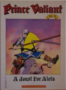 PRINCE VALIANT #31, SC, VF, 1st print, 1987, Hal Foster, Fantagraphics