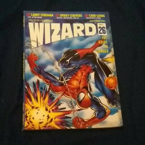 Magazine Wizard The Guide To Comics Number 26 Oct 1993