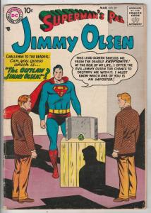 Jimmy Olsen, Superman's Pal  #27 (Mar-58) VG+ Mid-Grade Jimmy Olsen