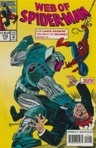 Web of Spider-Man, The #114 VF/NM; Marvel | save on shipping - details inside