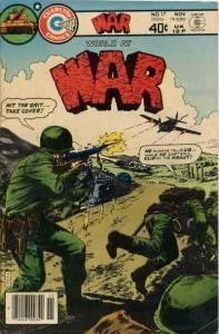 War #17 VG; Charlton | low grade comic - save on shipping - details inside