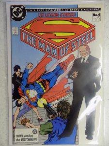 MAN OF STEEL MINI SERIES # 4 JOHN BYRNE SUPERMAN