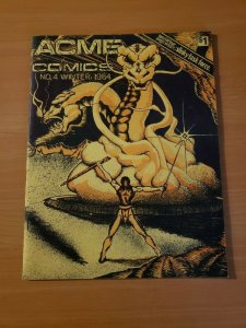 Acme Comics #4 Slinky Task Force ~ NEAR MINT NM ~ Winter 1984