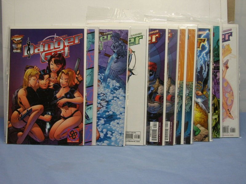 DANGER GIRL LOT #1-7 Special #1 SDCC EXCLUSIVE CLIFFHANGER IMAGE 14 COMIC BOOKS