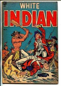 White Indian #13 1954-ME-Frank Frazetta-Frank W Bolle-VG-