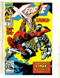 X-Force # 15 NM Marvel Comic Book Deadpool Cable Domino X-Men Wolverine JF23