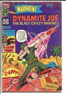 WARFRONT #37 1966-HARVEY-DYNAMITE JOE-WALLY WOOD-vg