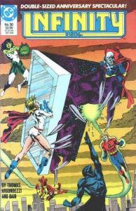 Infinity Inc. (1984 series) #50, NM- (Stock photo)