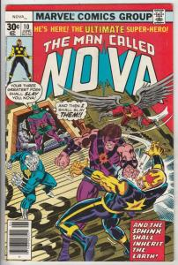 Nova, the Man Called #10 (Jun-77) NM- High-Grade Nova