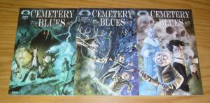 Cemetery Blues #1-3 VF/NM complete series - two bumbling monster hunters vs evil