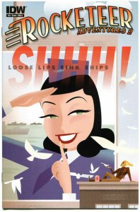 ROCKETEER Adventures 2 #4 A, NM, Dave Stevens, Bettie Page, 2012, more in store