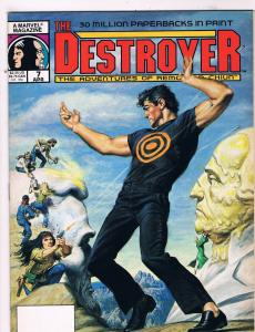 Destroyer The Adventures Of Remo And Chiun # 7 VF/NM Marvel Magazine Issue S73