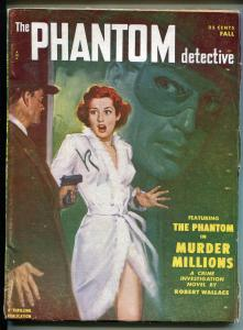 Phantom Detective Fall 1951-Thrilling-hero pulp-crime-mystery- Robert Wallace-VG