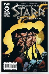 STARR the SLAYER #1, VF+, Richard Corben, Daniel Way, 2009,more Corben in store