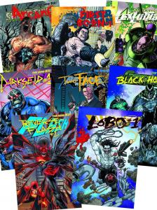DC VILLAINS MONTH COMPLETE SET 3-D LENTICULAR COVER 2nd PRINT - 52 ISSUE LOT.