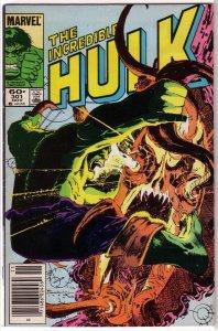 Incredible Hulk   vol. 1   #301 VG Mantlo/Sal Buscema, Sienkiewicz, Dr Strange