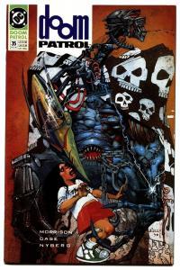 DOOM PATROL #35-1990 First appearance of FLEX MENTALLO comic book