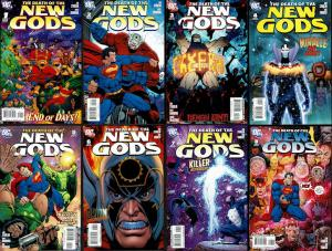 Death of the New Gods #1-8  (2007 DC)  VF+ to NM-