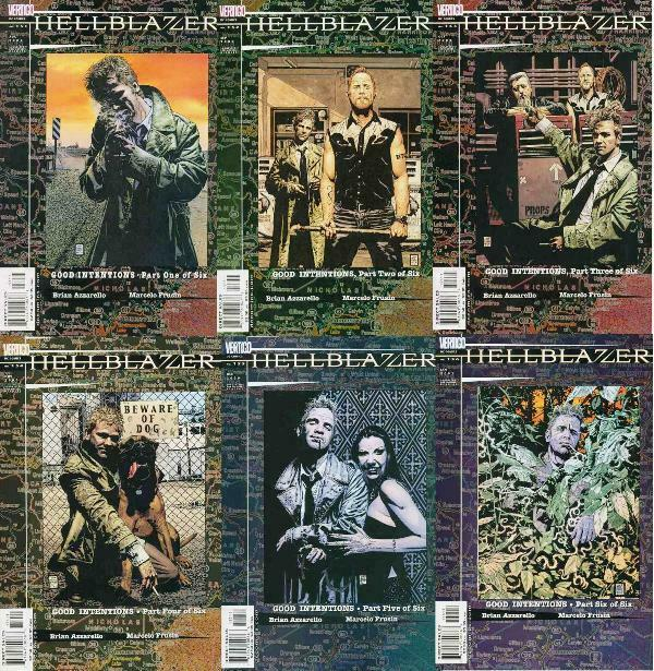 HELLBLAZER 151-156  Good Intentions complete story!