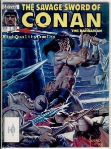 SAVAGE SWORD of CONAN #131, Kull the Conqueror, VF, Joe Jusko, more in store