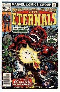 THE ETERNALS #9  Karkas cover-Comic Book Marvel 1976 VF
