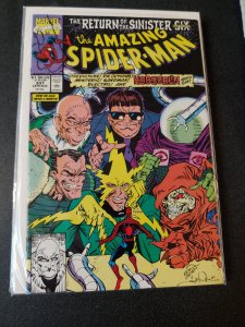 AMAZING SPIDER-MAN #337 THE NEW SINISTER SIX NM