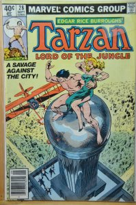Tarzan #28 (1979) John Buscema Cover !