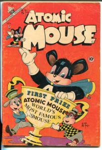 Atomic Mouse #4 1953-Charlton-Al Fago-Superhero Mouse-Atomic Age comic-VG