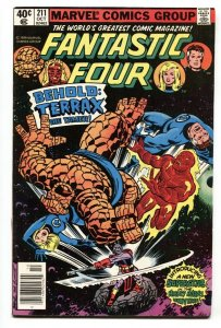 FANTASTIC FOUR #211 First  appearance of Terrax-Galactus FN/VF