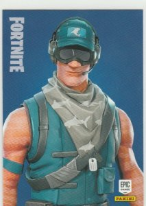 Fortnite First Strike Specialist 171 Rare Outfit Panini 2019 trading card series